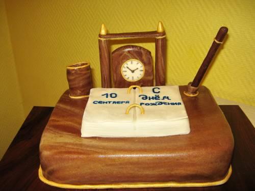 Фото тортов для директора